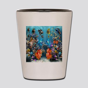 Under the Sea Shot Glass