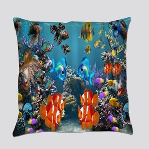 Under the Sea Everyday Pillow