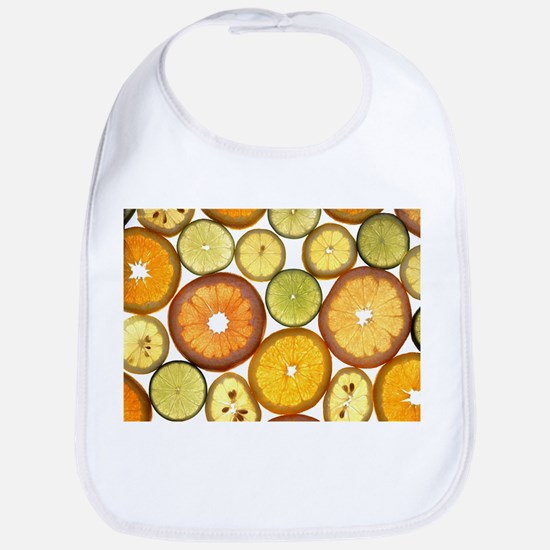 Citrus Fruit Slices Bib