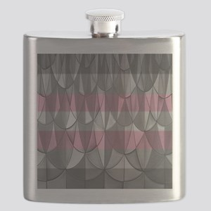 Demigirl Pride Flask