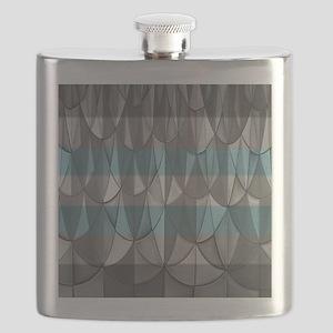 Demiboy Pride Flask