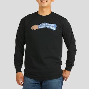 Arrested Development Leav Long Sleeve Dark T-Shirt