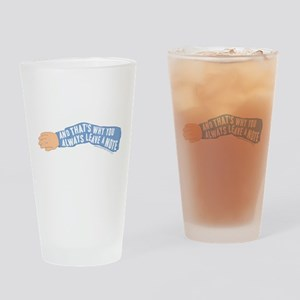 Arrested Development Leave a Note Drinking Glass
