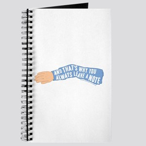 Arrested Development Leave a Note Journal