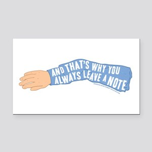 Arrested Development Leave a Rectangle Car Magnet