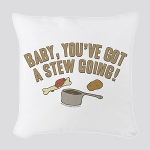 Arrested Development Stew Woven Throw Pillow