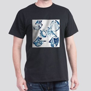 modern sea shells nautical T-Shirt