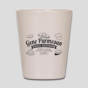 Arrested Development Gene Parmesan Shot Glass