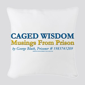 Arrested Development Caged Wis Woven Throw Pillow