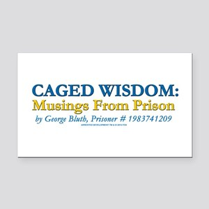 Arrested Development Caged Wi Rectangle Car Magnet