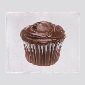 Chocolate Cupcake Throw Blanket