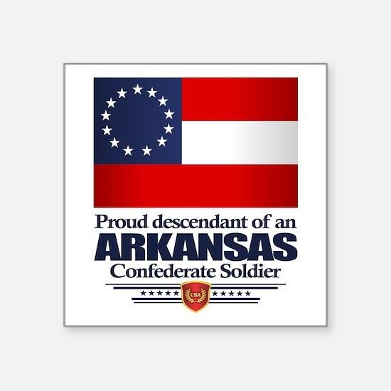 Arkansas Proud Descendant Sticker