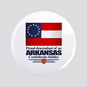 Arkansas Proud Descendant Button