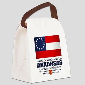 Arkansas Proud Descendant Canvas Lunch Bag
