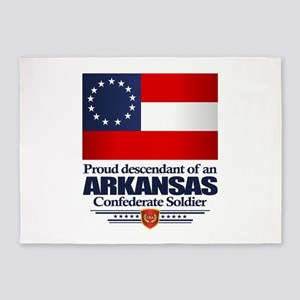 Arkansas Proud Descendant 5'x7'Area Rug