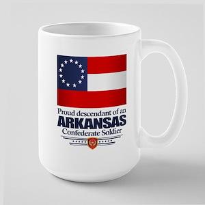 Arkansas Proud Descendant Mugs