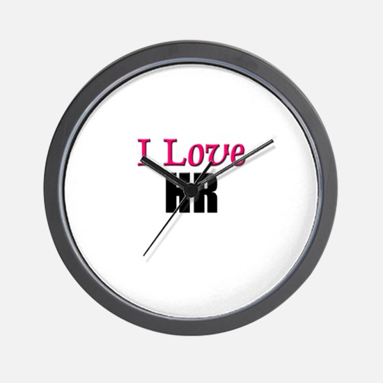 I Love HR Wall Clock