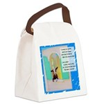 I'll Be the Best I Can Be Canvas Lunch Bag