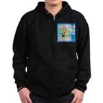 I'll Be the Best I Can Be Zip Hoodie (dark)