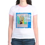 I'll Be the Best I Can Be Jr. Ringer T-Shirt