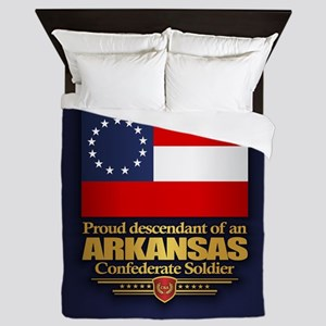 Arkansas Proud Descendant Queen Duvet