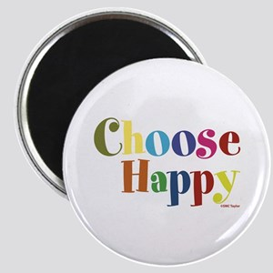 Choose Happy 01 Magnets