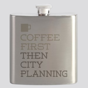 Coffee Then City Planning Flask