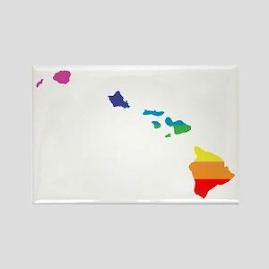 hawaii rainbow Magnets