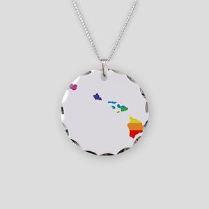 hawaii rainbow Necklace