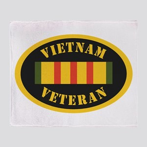 Vietnam Veteran Throw Blanket