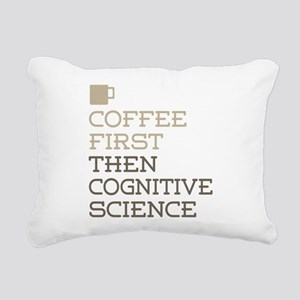 Coffee Then Cognitive Sc Rectangular Canvas Pillow