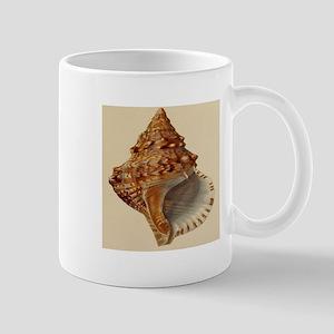 vintage botanical sea shells Mugs