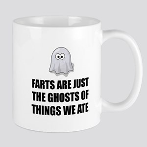 Farts Are Ghosts Mugs