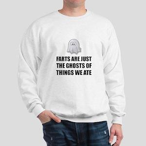 Farts Are Ghosts Sweatshirt