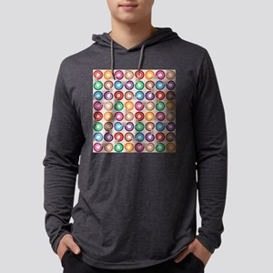 Abstract Colorful Decorative P Long Sleeve T-Shirt