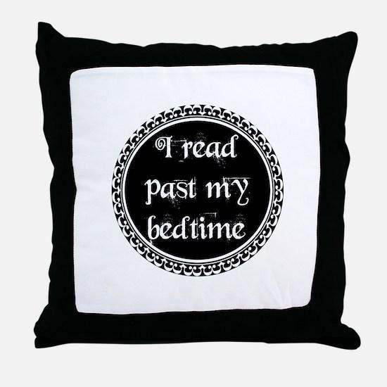Unique Read Throw Pillow