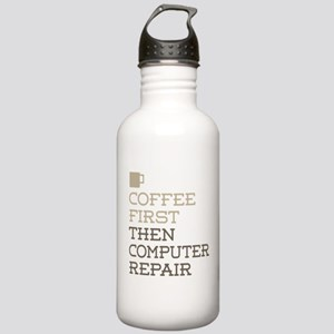 Coffee Then Computer R Stainless Water Bottle 1.0L