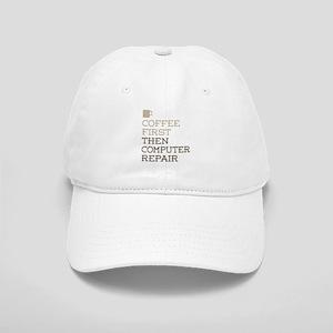 Coffee Then Computer Repair Cap
