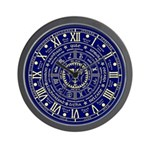 Wheel Of The Year Wiccan's Wall Clock
