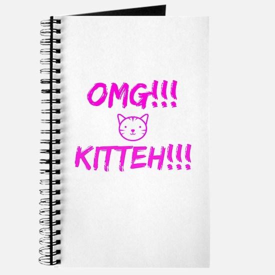 OMG KITTEH ! Journal
