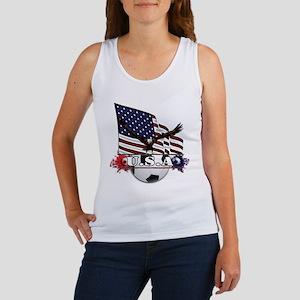 Patriotic Soccer Tank Top