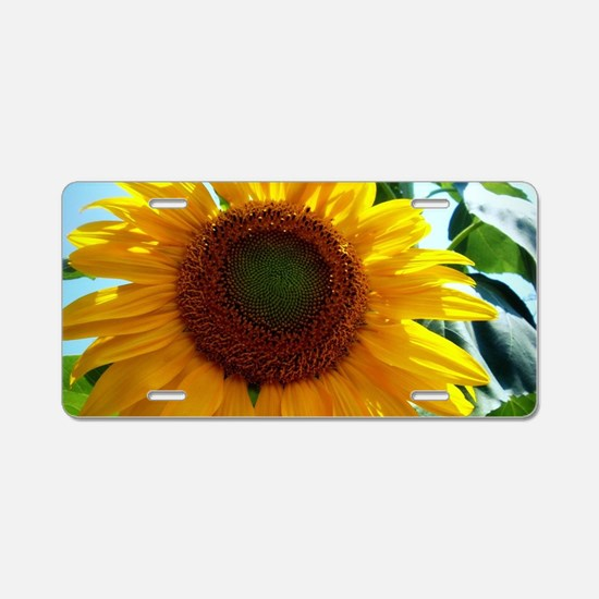 Smiling in the Sun Aluminum License Plate