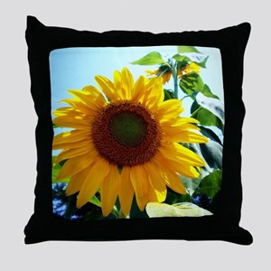 Smiling in the Sun Throw Pillow