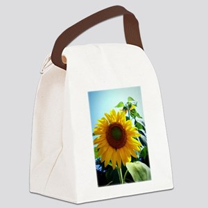 Smiling in the Sun Canvas Lunch Bag