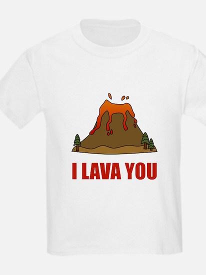 I Lava You Volcano T-Shirt