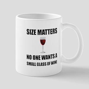 Size Matters Wine Mugs