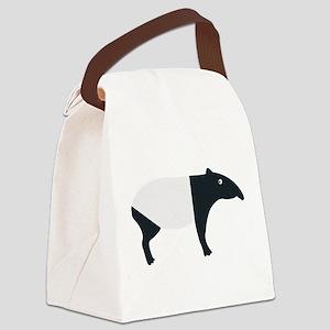 Malayan Tapir Canvas Lunch Bag