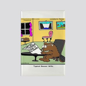 Beaver Living Wills Magnets