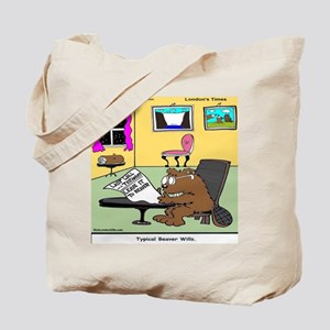 Beaver Living Wills Tote Bag
