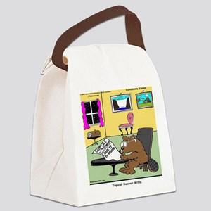 Beaver Living Wills Canvas Lunch Bag